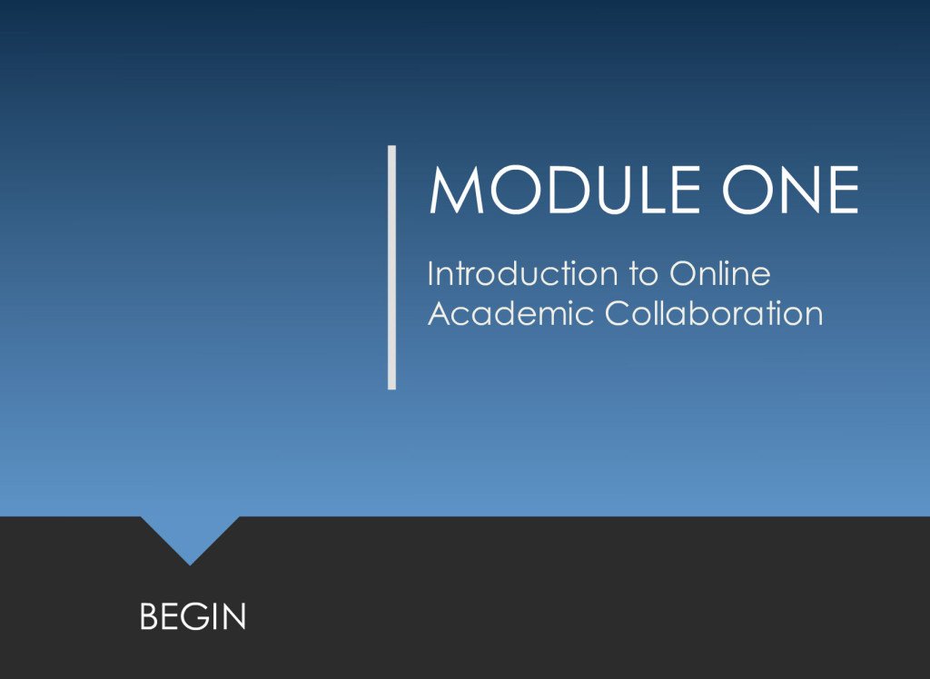 Introduction to Online Academic Collaboration